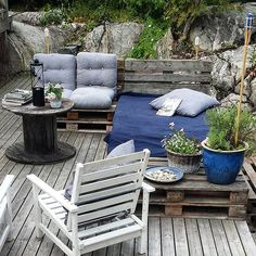pallets cushions