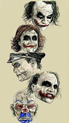 Batman Anniversary Tribute - PP :: Heath Ledger as Joker in 2008 - Art by Robert Bruno Le Joker Batman, Der Joker, Heath Ledger Joker, Joker Art, Joker And Harley Quinn, Heath Ledger Tattoo, Joker Arkham, Joker Clown, Joker Tattoos