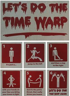 Let's Do The Time Warp - Halloween Party in Randburg on 1 November 2013
