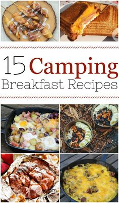 Here are 15 easy camping breakfast ideas for your next trip outdoors into the woods. It turns out that you can cook just about anything on a campfire, from healthy and balanced breakfast skillets to yummy burritos. Head out to the woods Camping Hacks With Kids, Best Camping Meals, Camping Menu, Camping Recipes, Family Camping, Camping Tips, Camping Cooking, Camping Foods, Backpacking Meals