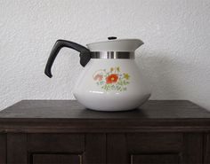 Wildflower Corning Ware 6 Cup Teapot Got this beauty already!
