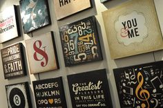 DCWV Diary: Typography Wall Decor