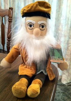 Amazon.com - Little Thinkers Doll: Leonardo Da Vinci - Plush Animal Toys