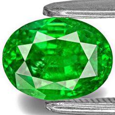1.86-Carat Lively Electric Green Kenyan Tsavorite Garnet