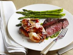 Surf and Turf for Two recipe from Food Network Kitchen via Food Network