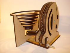 Woodworking projects that sell - You can get a great sense of accomplishment from building something with your own hands. Marble Tracks, Marble Toys, Marble Machine, Laser Cutter Projects, Laser Art, Diy Tech, Mechanical Art, Woodworking Projects That Sell, Teds Woodworking