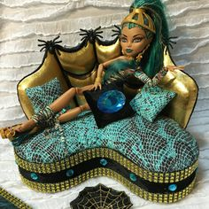 Furniture for Barbie Doll Monster High by PINKLITTLEFURNITURE