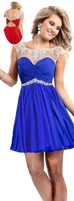 Blue Short Prom Dresses Under $100