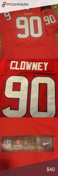 Jadeveon Clowney jersey Brand new (without tags) Nike jersey. Stitched number and lettering. Size adult Large nike Other