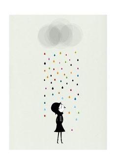 rain-print