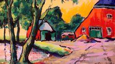 """Arie Zuidersma (1925-2014) -Eind jaren vijftig werd de kwaliteit van Zuidersma opgemerkt door Johan Dijkstra (1896 – 1978), die in 1959 zijn eerste solo-expositie recenseerde voor Nieuwsblad van het Noorden: ,, een goede tentoonstelling die verwachtingen wekt."""" Dijkstra zag behalve talent overeenkomsten tussen Zuidersma's expressieve manier van werken en de opvattingen van De Ploeg."""