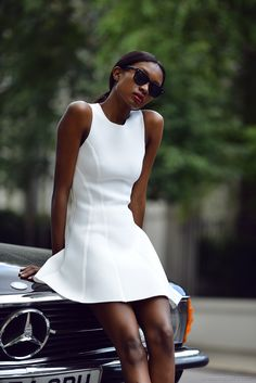 white dress from TopShop