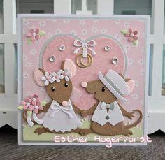 Rena, Pop Up Box Cards, Wedding Cards Handmade, Marianne Design, Bridal Shower, Anniversary, Frame, Inspiration, Card Ideas