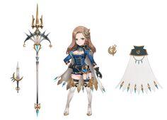 두 세력속의 영웅들 3탄! : 네이버 카페 2d Character, Character Modeling, Character Costumes, Character Outfits, Character Concept, Concept Art, Seven Knight, Knight Art, Girls Characters