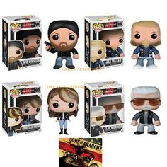 sons of anarchy pop collection CLAY MORROW/ JAX TELLER / OPIE WINSTON / JEMMA MORROW