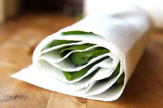 Paper towels are commonly used in household cleaning. It provides easy cleanup and are usually used to wipe dirt, spills, and stains.