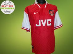 6dd5e94324d VGC ARSENAL HOME 1996-1998 (XL) NIKE FOOTBALL SHIRT Jersey Maglia Camisa  Soccer
