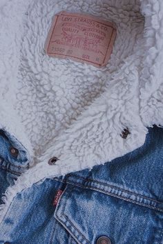 ad0089e4424a9  federxca Sheepskin Denim Jacket