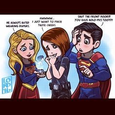 """Lordmesa Art — """"Supercute""""💪🏽👶🏻💪🏽 No one is safe from blackmail..."""