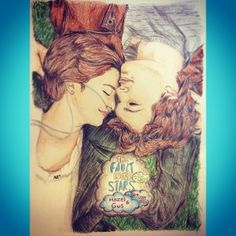 the fault in our star drawing #TFIOS