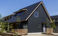 Japanese House, Facade, Architecture Design, Shed, Exterior, Outdoor Structures, House Styles, Outdoor Decor, Image