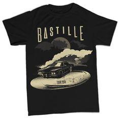 Bastille - The Last Stand US Tour T-Shirt