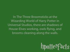 about a million hpotterfacts! I don't think all of them are true, and I've heard a lot of them, but the ones I haven't are AWESOME!