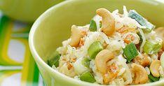 Risoni är små, små gryn av pasta som påminner om ris till utseendet. Här serverad i en krämig mix tillsammans med smakrika grönsaker.