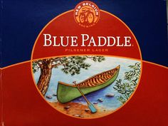Blue Paddle Pilsener Lager