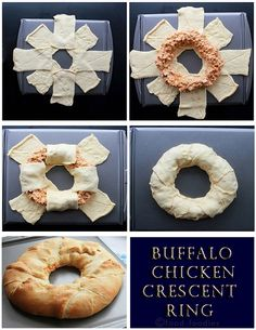 Buffalo chicken crescent ring: Just as easy and delicious as it looks!