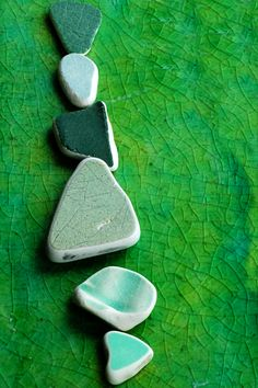 sea pottery think I love this and it would be easier to make than the sea glass