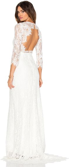 ac943bda8520 Alexis Akira Lace Gown Short Lace Dress, Short Dresses, Formal Dresses, White  Maxi