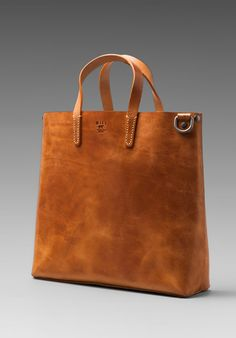 WILL LEATHER GOODS Douglas Tote in Natural - WILL Leather Goods