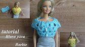 bolerito para Barbie con 2 exagonos - YouTube