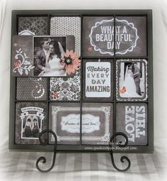 Gina's Little Corner of StampinHeaven: Picture My Life in a Display Tray