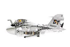 Grumman A-6 Intruder Airplane Fighter, Airplane Art, Aviation Humor, Aviation Art, Military Jets, Military Aircraft, Planes Characters, Cartoon Plane, Pilot Humor