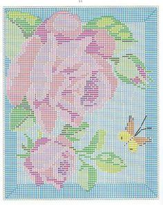 Roses long stitch 2/2