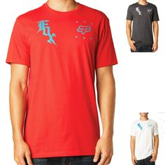 2015 Fox Racing Mens Short Sleeve Stamper Tee Casual Shirt Top
