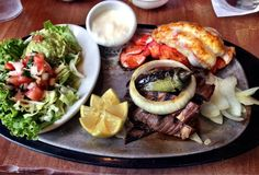Uncle Julio's - Austin, TX, United States. The Cadillac - Lobster and Beef Fajitas