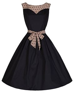 Lindy Bop 'Davina' Vintage 1950's Inspired Stylish Swing Dress Lindy Bop http://www.amazon.com