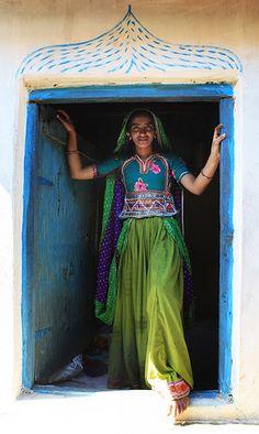In the Doorway, India