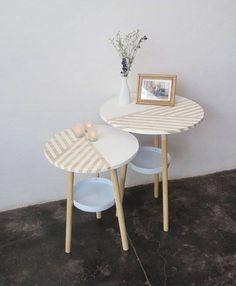 table + washi tape