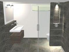 kleine badkamer ontwerpen - Google Search