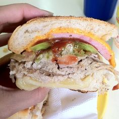 Sandwich Especial De Pierna @ Barra Payan