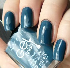 Avon - Gel Finish Marine Blue
