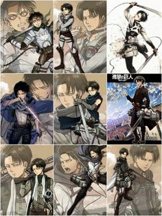 Levi. The Wings of Counterattack.
