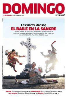 Cover Magazine Design Revista Domingo del diario La República, Perú Photography: Jorge Cerdán Layout: Jorge Cerdán