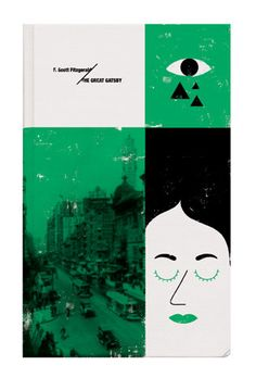 The Great Gatsby book cover. Maxime Francout.