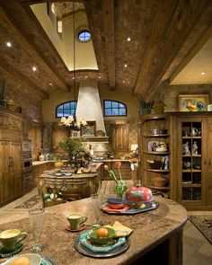 Tuscan Style Kitchen!