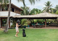 Casa de praia com jeito de varanda na Bahia - Casa